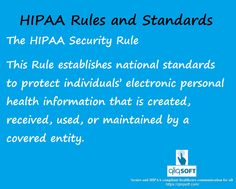 #Hipaa Education:  The Hippa Security Rule requires appropriate administration, physical and technical safeguards to ensure the confidentiality and security of electronic protected health information.