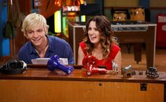 For 'Austin & Ally' fans, one question always remains -- will Austin and Ally ever be together in real life? Of course, they're talking about Ross Lynch and Laura Marano. Luckily, she stopped i. Disney Channel Shows, Disney Shows, Austin Y Ally, Raini Rodriguez, Audio Latino, Garrett Clayton, Old Disney, Disney Live, Laura Marano