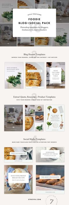 Foodie Pack - Station Seven WordPress Themes