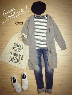 ZARAのTシャツ・カットソーを使ったennnnn!!のコーディネートです。WEARはモデル・俳優・ショップスタッフなどの着こなしをチェックできるファッションコーディネートサイトです。