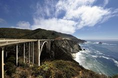 Pacific Coast Highway Road Trip Bixby Bridge