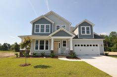 The Ocracoke 2,901 SF features a spacious Kitchen with open concept.