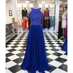 Royal+Blue+Long+Beaded+Formal+A+Line+Cheap+Prom+Dresses,+SWG001  COLOR:+picture+color+or+custom+color.+  **FABRIC+SWATCH** there+maybe+have+slight+color+difference+cause+of+the+monitor+and+light,+if+you+are+strict+about+the+color,+it's+better+contact+us+to+order+some+fabric+swatch+first.  ...