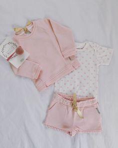 Romper Little Label 'Pink Clover'