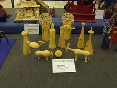 Nativity scene from Egypt - photo from travelocafe:  Nativity Scenes From Around The World