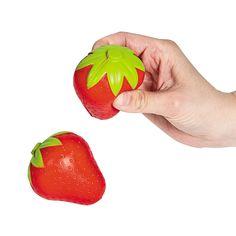 Strawberry Stress Toys - OrientalTrading.com if I can't find strawberry lights use this as favors