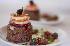 Cultured Cashew Cheese with Fig & Red Rice