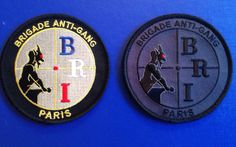 Écussons de la BRI en vente au prix de 6€ + enveloppe suivi pour le retour à l'Amicale de la BRI - 36 quai des Orfèvres 75001 Paris