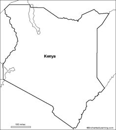 kenya animal coloring pages | Kenya Flag Colouring Pages and other printables | Kenya ...