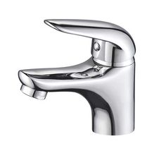 Single-Handle Bathroom Water Tap Basin Faucet in Chrome