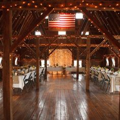 Real Weddings - In Bliss Weddings The couple's family and friends helped decorate the historic barn where the reception took place. Guests helped string twinkle lights around the room, which were then covered in chiffon, a nod to the bride's ballet background. The tables were decorated with mason jar-filled floral arrangments, done by the groom and best man! - See more at: http://inblissweddings.com/real-weddings/story/preview/296#sthash.OtXW7pPo.dpuf