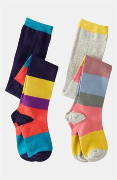 Mini Boden Tights (2-Pack) (Little Girls & Big Girls) available at #Nordstrom