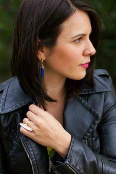 jewelry, blue statem