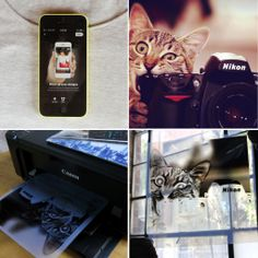 Inkodye: Photo Negatives to Fabric Prints