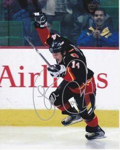 Theoren Fleury Autographed 8x10 Photo #SportsMemorabilia #CalgaryFlames