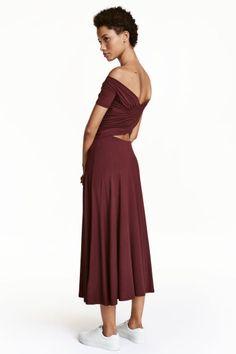 Off-the-shoulder dress   H&M