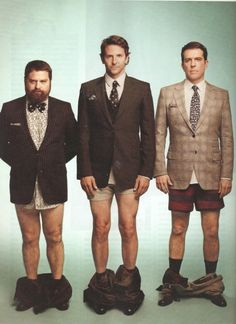 the boys from hangover....without their pants. :)