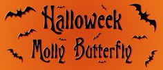 La semana de Halloween 2014 en Facebook. Molly Butterfly. http://www.facebook.com/MollyButterflyDesigns