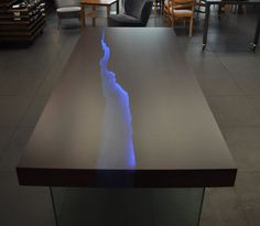 Kasparo- amazing table with resin and LED technology