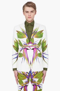 Thousands of dollars at Givenchy. Screw that. Who wants to go get a white suit from Goodwill and paint on it with me? RORSCHACHKET!