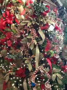 Burlap Christmas Tree at Nordlie Inc. Cleveland