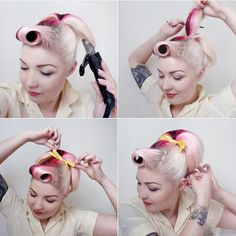 Diablo Rose: 50s Ponytail Tutorial (inspired by Sandy from Grease)