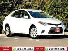 2014 Toyota Corolla LE 4D Sedan 42k miles Call for Price 42303 miles 209-924-4358 Transmission: Automatic  #Toyota #Corolla #used #cars #TracyToyota #Tracy #CA #tapcars
