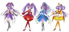 "Crunchyroll - 13th PreCure TV Series ""Maho Girls PreCure!"" Visuals Revealed"