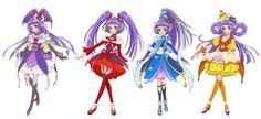 "Crunchyroll - 13th PreCure TV Series ""Maho Girls PreCure!"" Visuals Revealed"