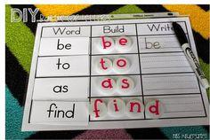 Miss Kindergarten: sight word practice