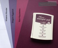 Stampin' Up! Blackberry Bliss Comparison