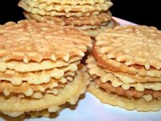 Pizzelles - Made with Gluten Free Bisquick #TDayRoundUp Entry by @EZ Gluten Free