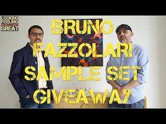 Bruno Fazzolari Sample Set Giveaway (CLOSED)