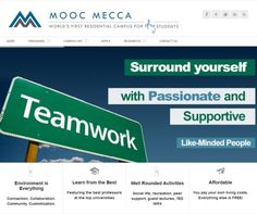 MOOC Mecca a 501(c)3 nonprofit that embraces open sourced content, empowers self directed learners, and provides the best of blended learning in an intellectually stimulating environment of the coolest people you know.