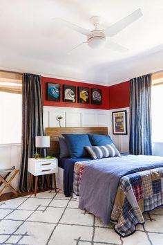 A Teen Boys Bedroom Makeover