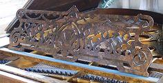 Bechstein Model V music desk
