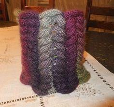 neckwarmer réalisé par Monibrode avec la laine 294e409