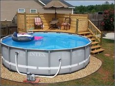 Pool fences are ideal for individual privacy along with protection. However you can still enjoy developing your pool fence. Here are 27 Fantastic pool fence ideas! Above Ground Pool Landscaping, Above Ground Pool Decks, Backyard Pool Landscaping, In Ground Pools, Pool Fence, Landscaping Ideas, Above Ground Swimming Pools, Oberirdische Pools, Cool Pools