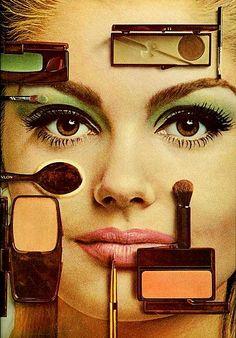 Revlon ad, Mademoiselle, 1966