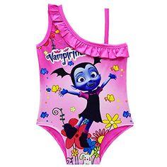 76a3b448e8 Vampirina Little Girls One Piece Swimsuit Swimwear #swimmingpool  #swimoutlet #swimmingpoolnearme #swimwear #