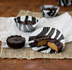 Peanut Butter Cups from Nut Butter Universe by Robin Robertson