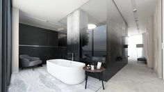 Such a luxurious bathroom could be in your apartment in the Templiner Park property development!