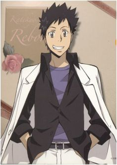 """The Rain Guardian of the 10th Vongola Boss, Yamamoto Takeshi - """"To become a blessed shower that settles conflict and washes everything away."""""""
