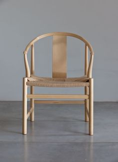 Hans Wegner Chinese Chair for PP Mobler | From a unique collection of antique and modern armchairs at https://www.1stdibs.com/furniture/seating/armchairs/