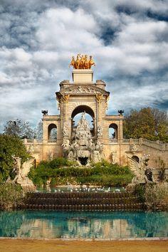 The Cascade Fountain, Parc de la Ciutadella, Barcelona, Spain