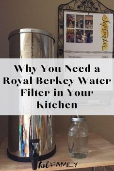 The Royal Berkley Water Filtration System is a stainless steel system that filters out over 99.99% chlorine, over 99.99% bacteria and viruses, lead, VOC's, THM's, lindane, benzene and atrazine. It is a very affordable water filtration system with the cost per gallon approximately 1.6 cents. Reduce plastic, eliminate harmful chemicals, and enjoy the taste of pure, clean drinking water. #berkeywaterfilter #purewater #waterfilter #holfamily Benefits Of Drinking Water, Drinking Water Filter, Berkley Water Filter, Shower Filter, Beat Cancer, Water Filtration System, Really Cool Stuff, Health And Wellness, Filters
