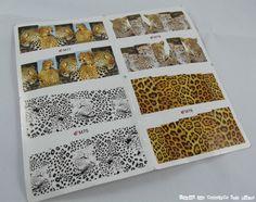 Colaboración Bornpretty Store: Water decals con estampado de leopardo http://www.todoslosesmaltessonpocos.com/2014/08/colaboracion-bornpretty-store-water_26.html