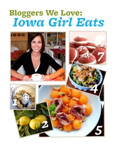 Blogger We Love: Kristin Porter ofIowa Girl Eats. Read her answers to our BHGfood questions here: http://bhgfood.tumblr.com/post/22717055539/blogger-we-love-kristin-porter-of-iowa-girl-eats#