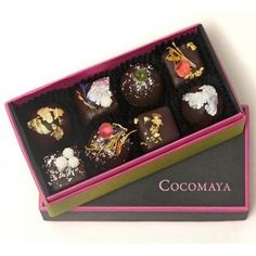 Cocomaya are one of the leaders in the artisan chocolate scene taking grip of London at the moment. The techniques used to create their little masterpieces hark back to a bygone era when quality and taste mattered far more than the ability to mass produce.