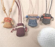 Twined Basket (Waxed Linen) Necklace Pattern - Wagner http://catalog.countryseat.com/twinedwaxedlinenbasketnecklacepattern-wagner.aspx